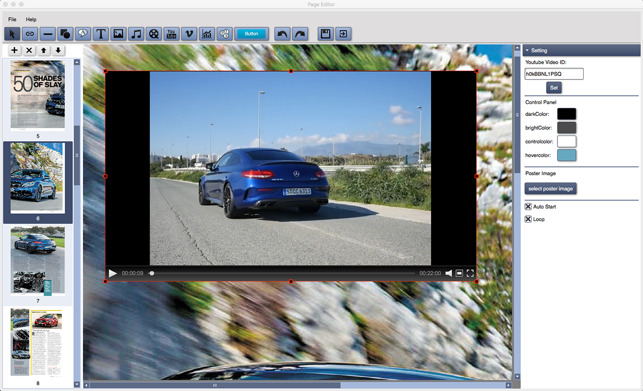 Html5 Flip Book Maker Software Convert Pdfimages To Interactive