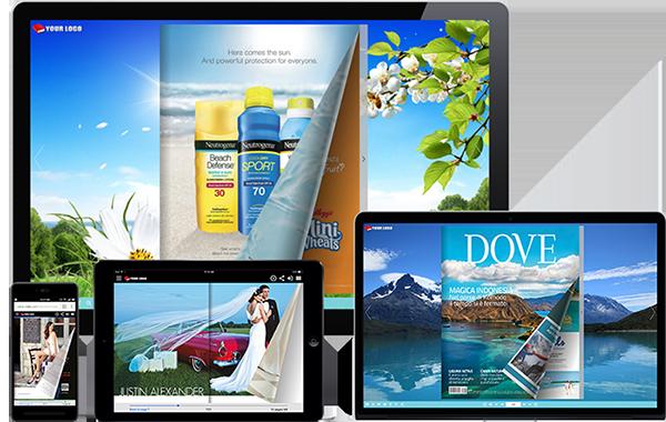 HTML5 flipbook app for creating interactive digital HTML5